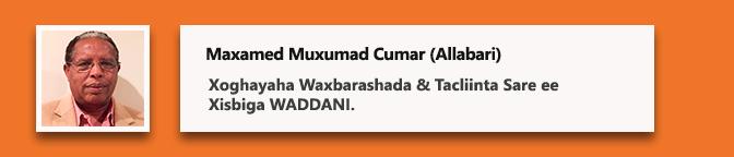 Proff Maxamed Muxumad Cumar (Allabari)