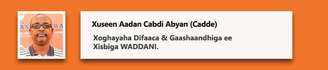 Xuseen Aadan Cabdi Abyan (Cadde)