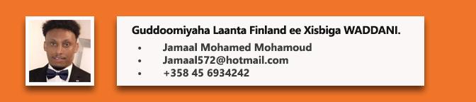 • Jamaal Mohamed Mohamoud