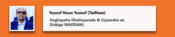 Yuusuf Nuux Yuusuf (Tadhase)