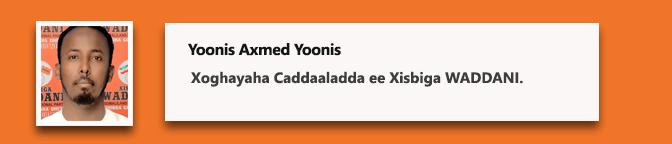 Yoonis Axmed Yoonis